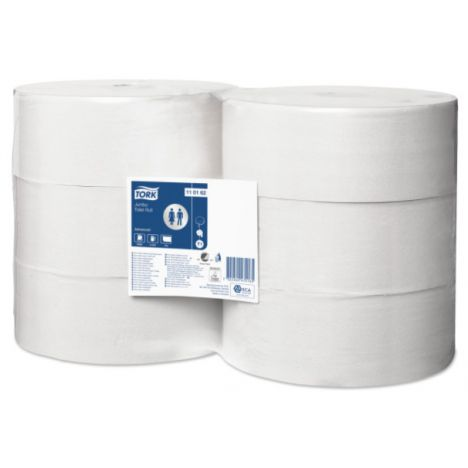 Tork Jumbo Toiletpapier 1-laags Wit T1 Advanced